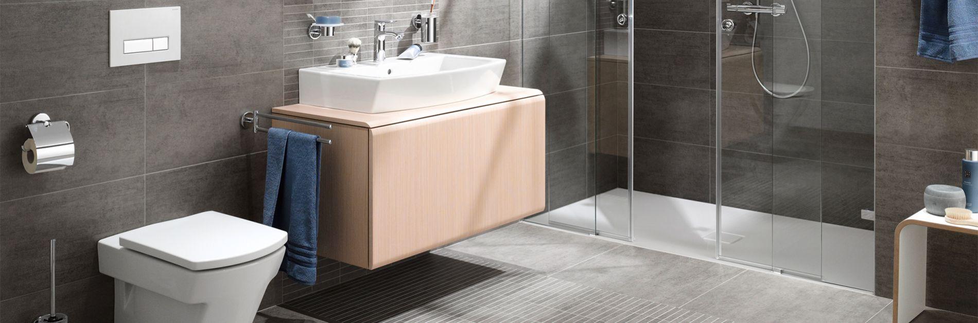 Badezimmer - Fliesen Ecker